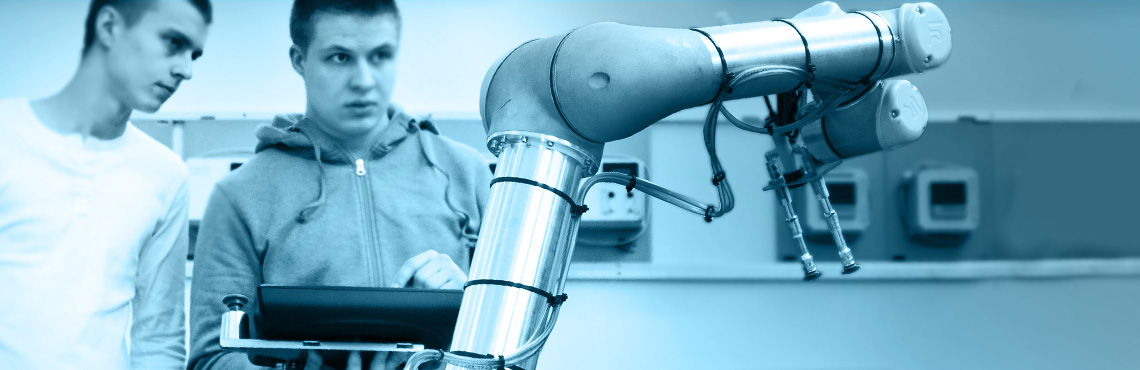 Collaborative robot arms help to develope and innovate the scientific and research communities