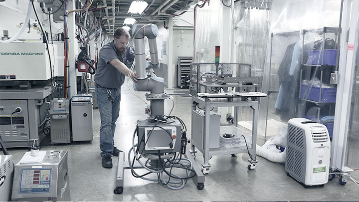 Flexible Deployment Of Cobots At Dynamic Group
