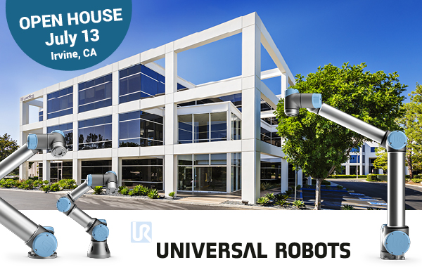 Universal Robots Opens New West Coast Headquarters in Irvine