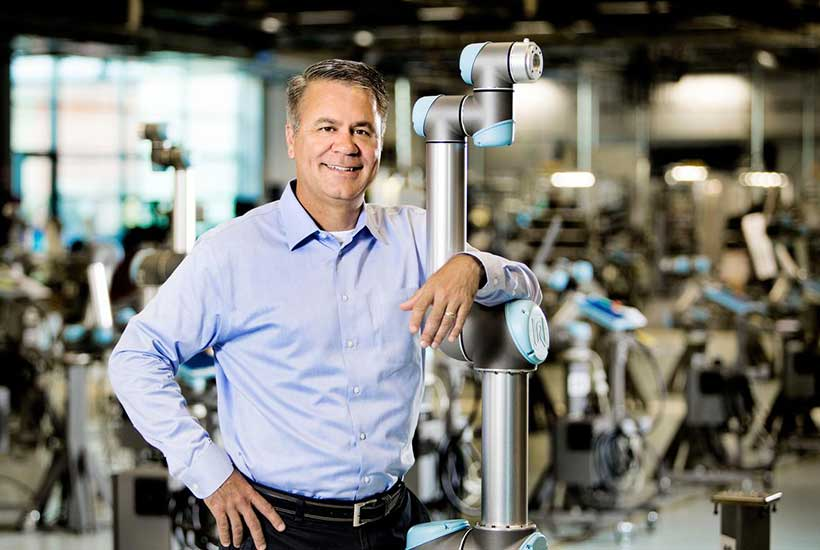 Universal Robots hires Douglas Peterson as General Manager of Americas Region