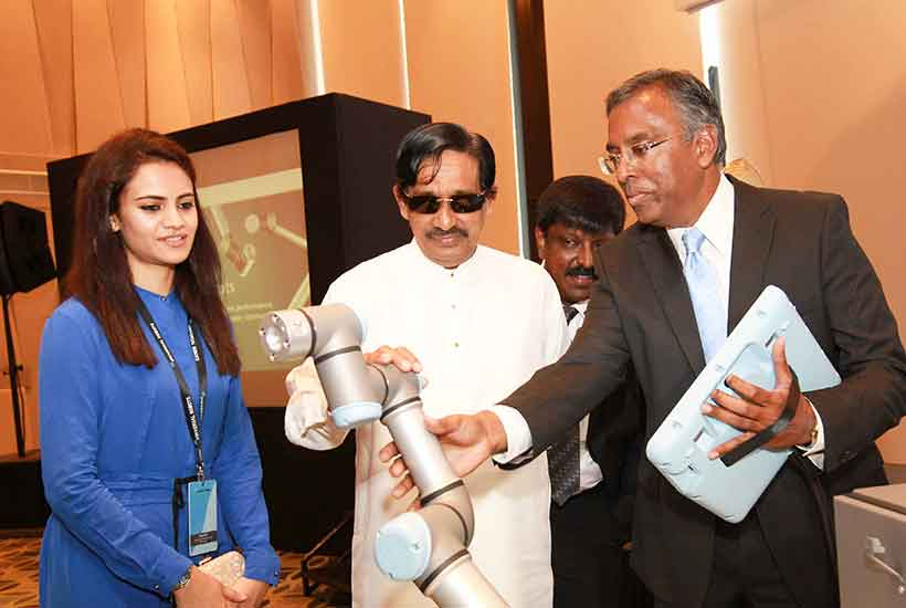 Universal Robots Denmark, Inventors of Collaborative Robots, launches in Sri Lanka