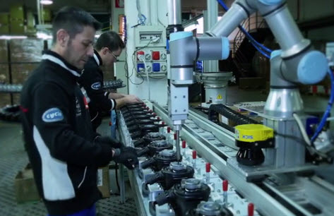 Human Robot Collaboration At Rupes Cobots