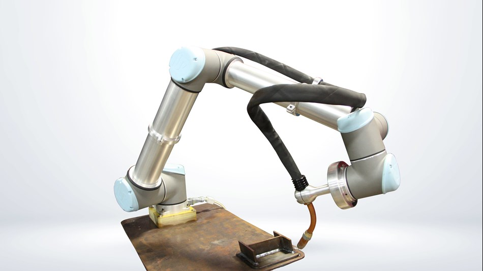 UR+ Solutions | SnapWeld collaborative robot welding package.