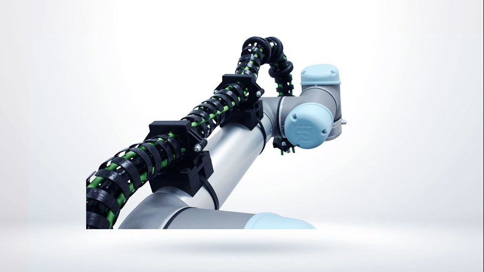 Cable Guidance for collaborative robots from Universal Robots.