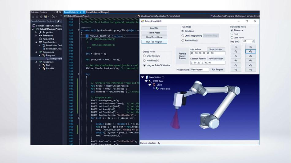 UR+ Solutions | RoboDK simulation and offline programming