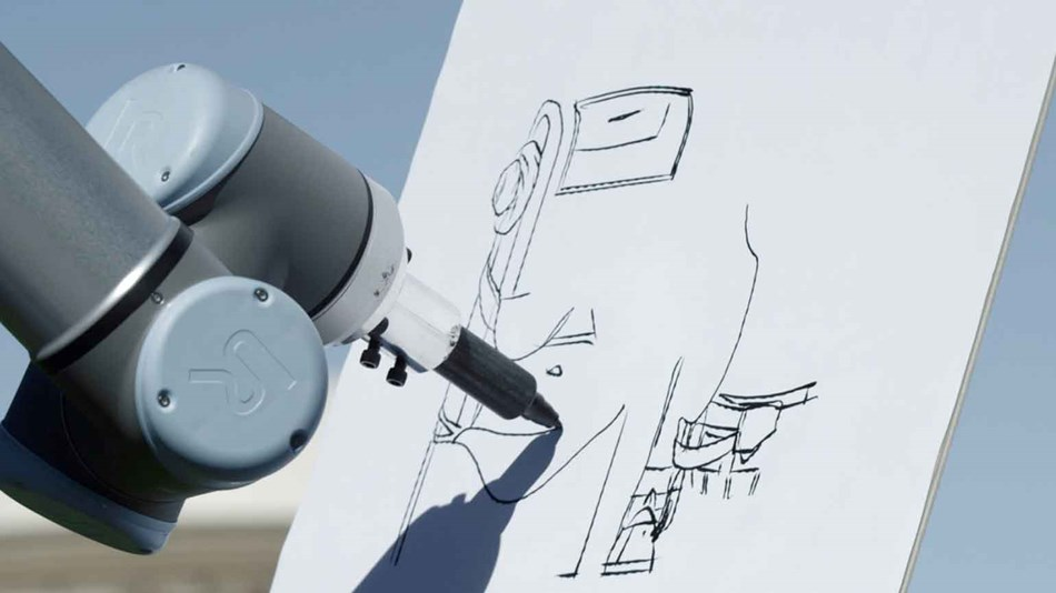 Autodesk Has Chosen Ur10 Robots For A Wide Range Of Projects Due To