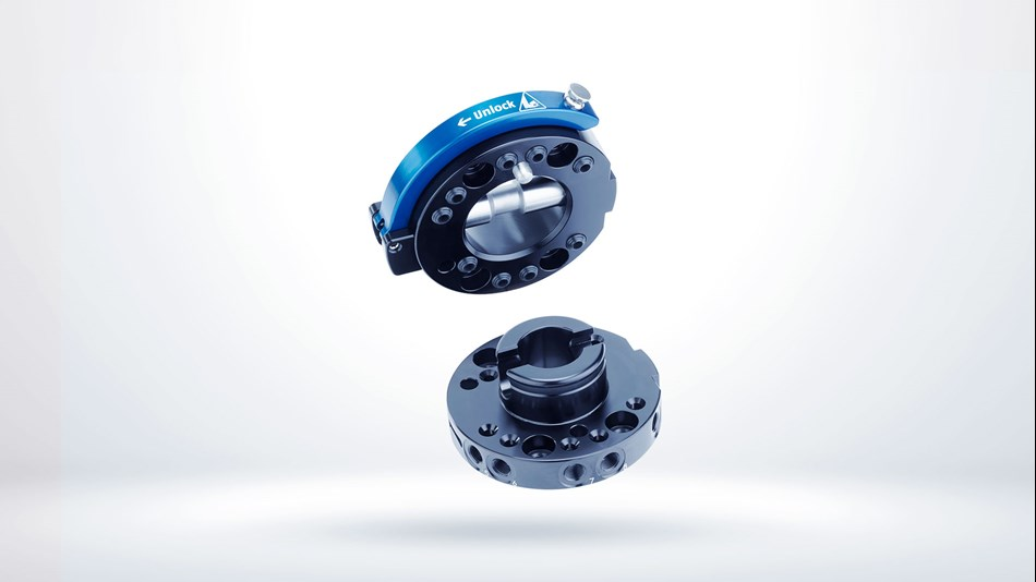 Tool changers for Schunk end-of-arm modular system.