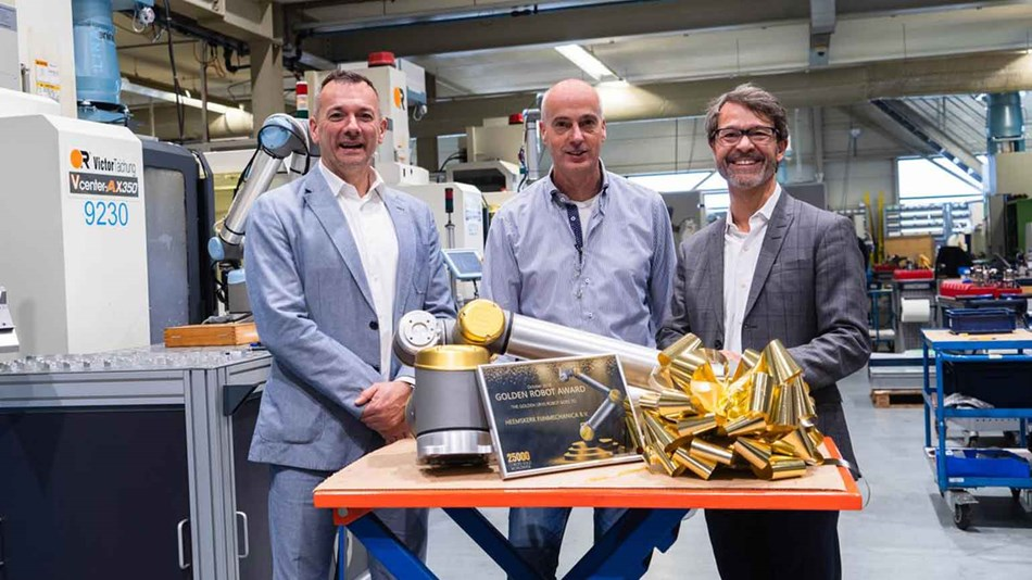 Winner of Golden Cobot Western Europe