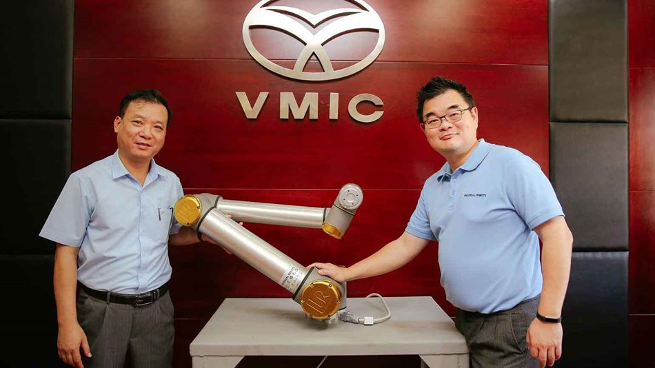 Golden robot winner - Vinacomin motor industry joint stock company