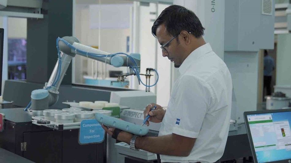 Carl Zeiss India - 24x7 Manufacturing Capability with cobots