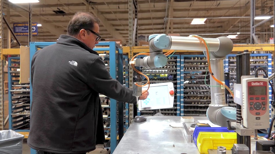"""We were surprised at the ease of programming the UR robots. It did not require any heavy-duty programming like our CNC machines,"" says Birk Sorensen, VP of Engineering at EMTEK"