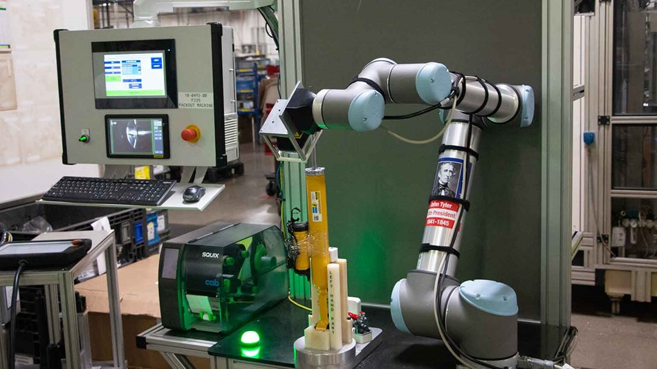 Collaborative robot in application