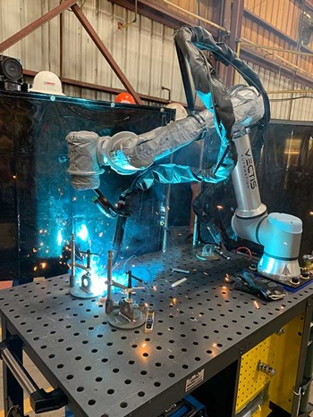 New Cobot Welding Tool