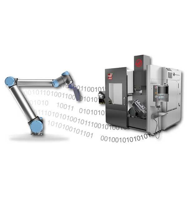 UR+ Solutions | VersaBuilt Robotics Robot2CNC - Haas Legacy