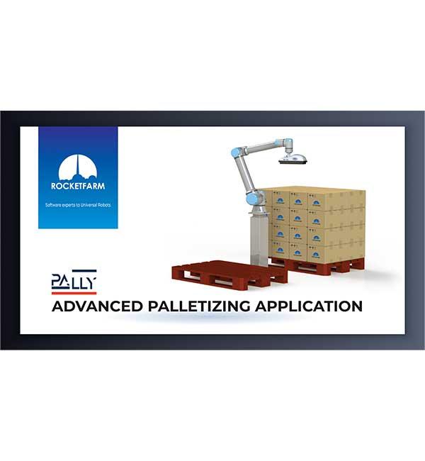 UR+ | Advanced Palletizing Application Universal Robots