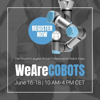 WeAreCOBOTS the World's Largest Virtual Collaborative Robot Expo
