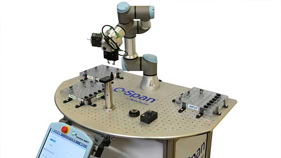 Designed for use with UR3e cobots