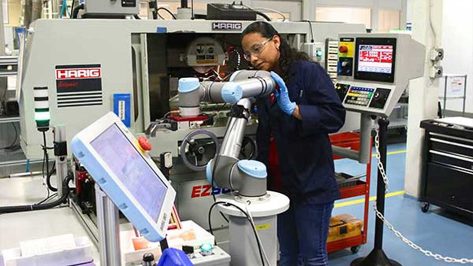 Tegra Medical in Boston doubled its production output with collaborative robots