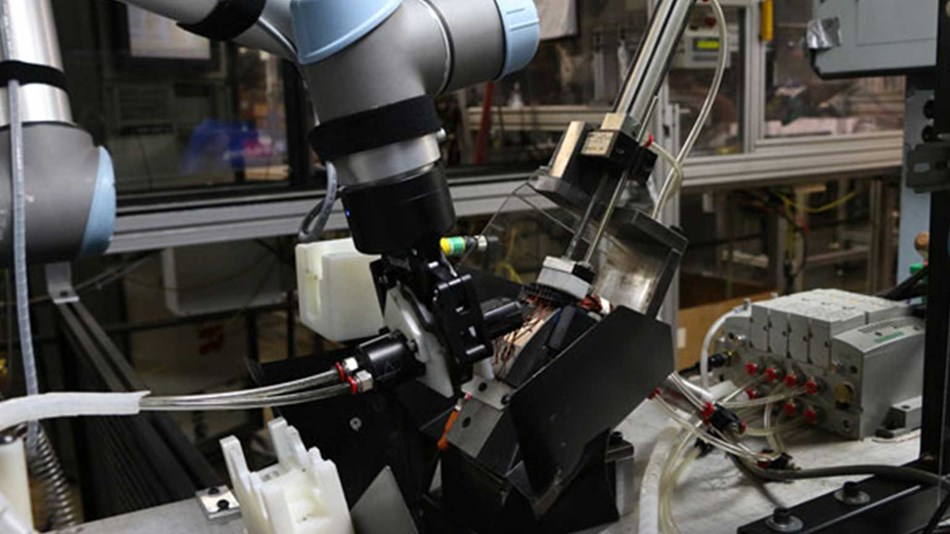UR5 robot now handles cutting 16,000 wires per day