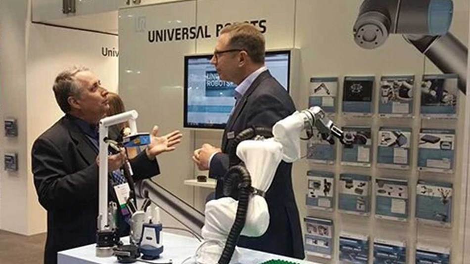 President of Universal Robots Jürgen von Hollen discusses the expanding UR+ platform