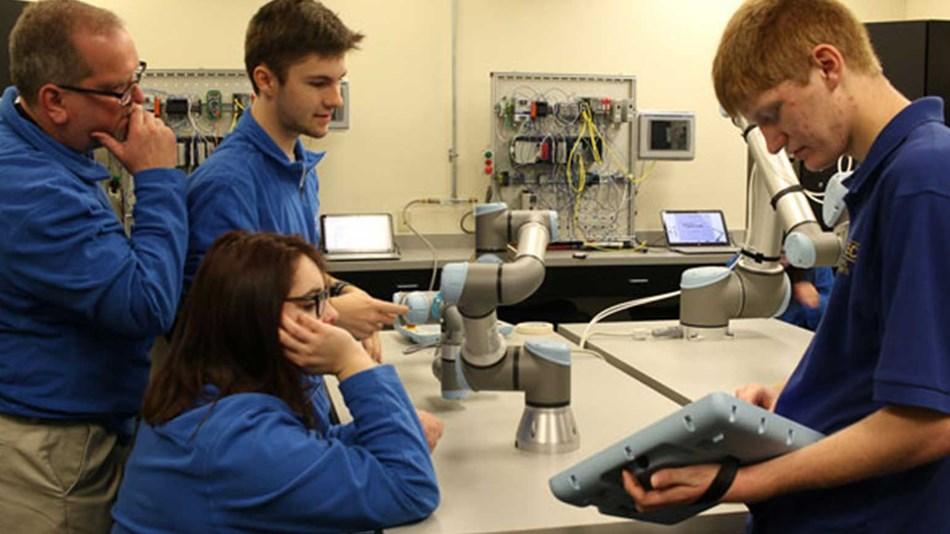 Cobots are shaping the education industry